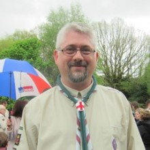 Ant Gardiner: New Scouts District Commissioner