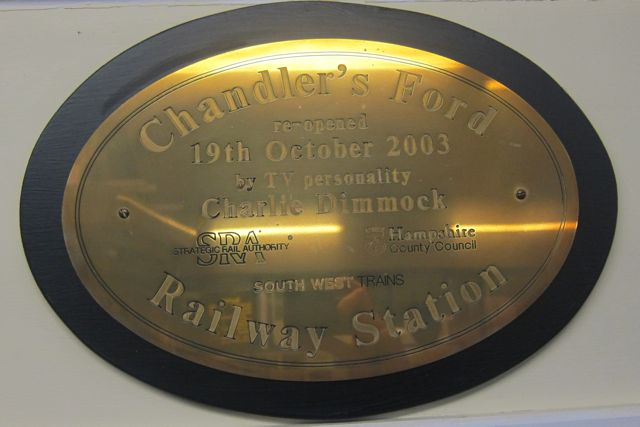 Chandler's Ford Re-opened 2003