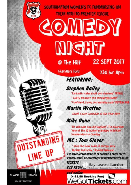 Comedy Night at The Hilt