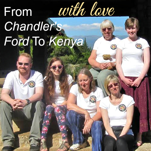 From Chandler's Ford to Kenya, with love.