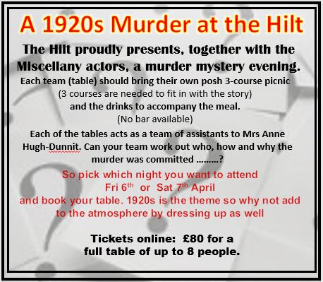 A 1920s Murder at the Hilt