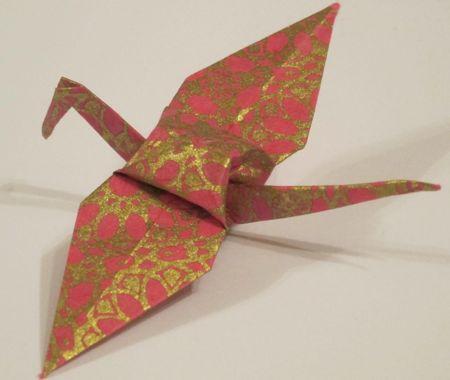 Pink Crane image