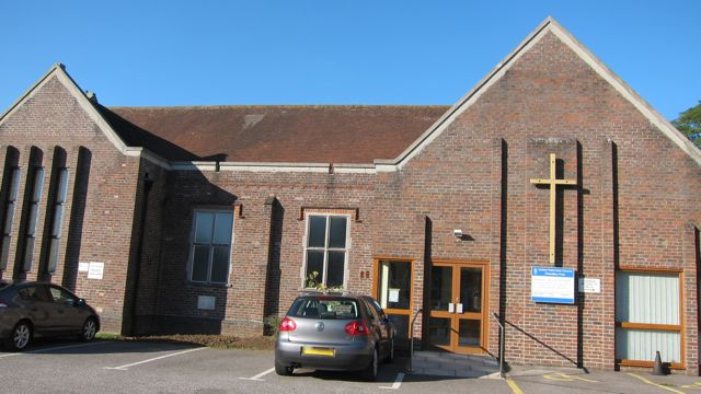 United Reformed Church in Chandler's Ford, Kings Road.