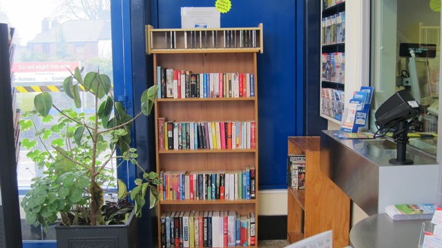 Buy second hand books at Chandler's Ford Train Station
