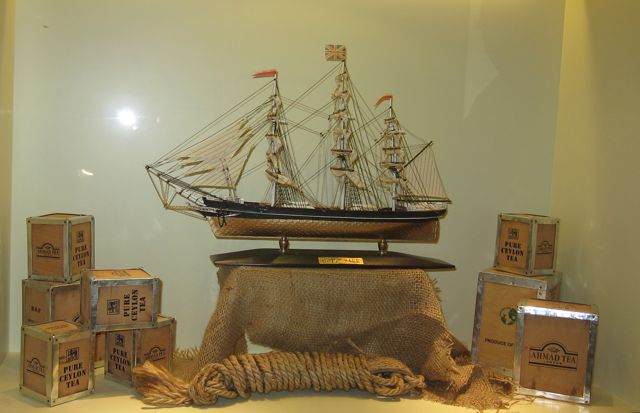 Cutty Sark model at Tea Museum (Ahmad Tea)