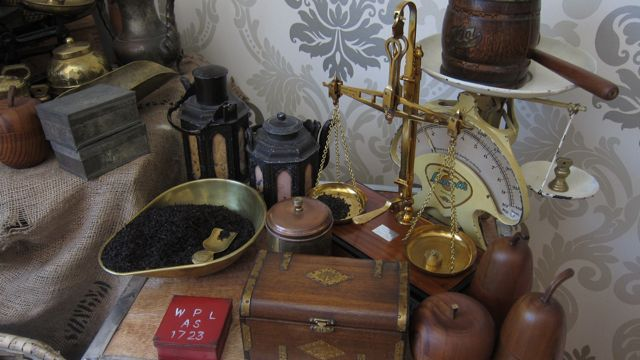 Delightful weighing machines at Tea Museum (Ahmad Tea)