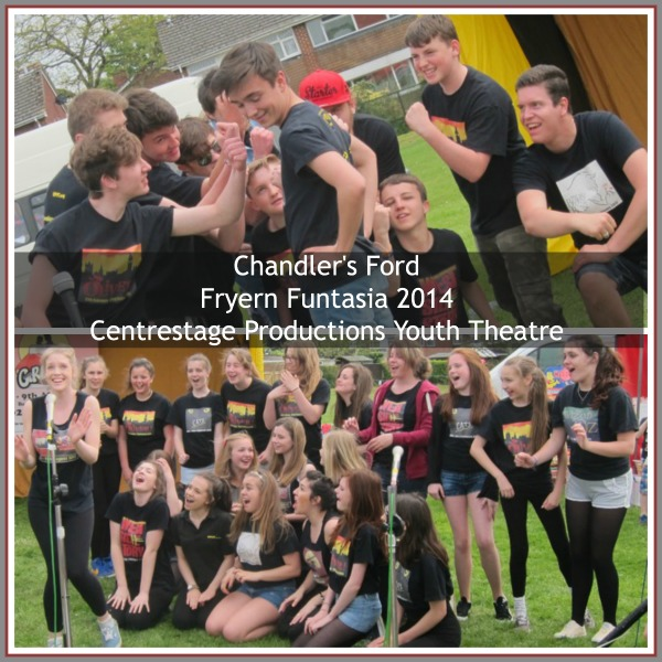 Fryern Funtasia 2014: Centrestage Productions Youth Theatre performing Grease.