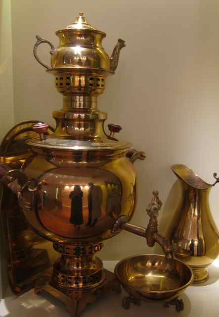 A Russian Samovar at Tea Museum (Ahmad Tea)