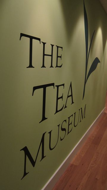 The best kept secret in Chandler's Ford - The Tea Museum at Ahmad Tea, in Chandler's Ford.