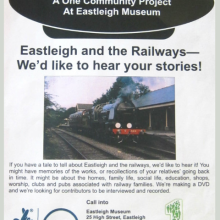 Eastleigh Museum Needs Your Stories Of Eastleigh And Railways