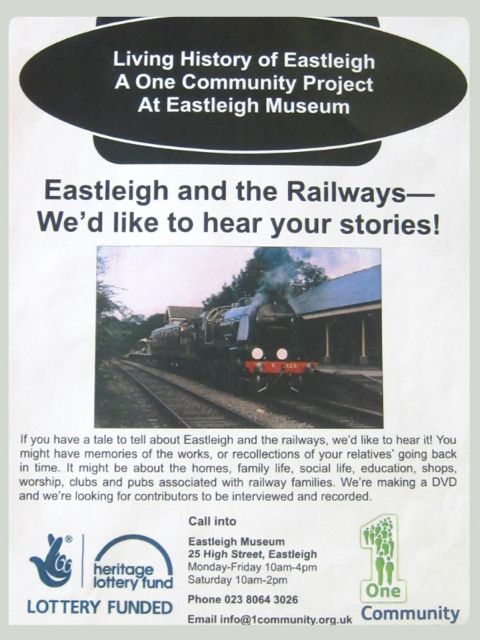 Eastleigh and the Railways project