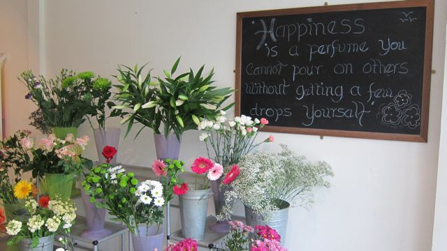 Happiness at Love Flowers
