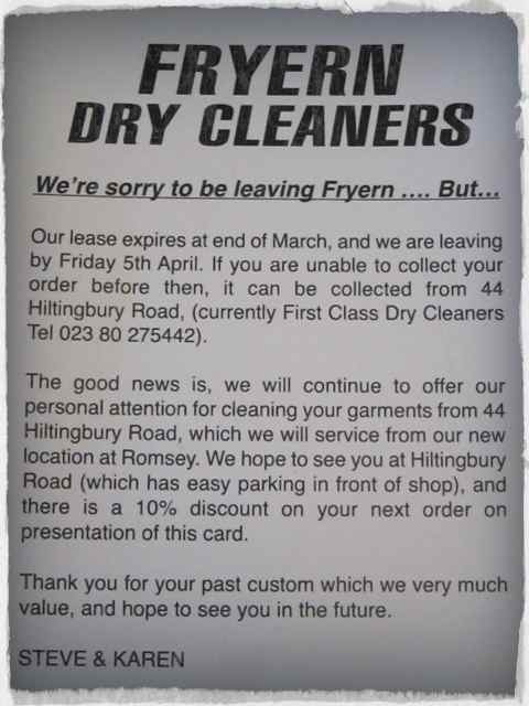 fryern dry cleaners medium