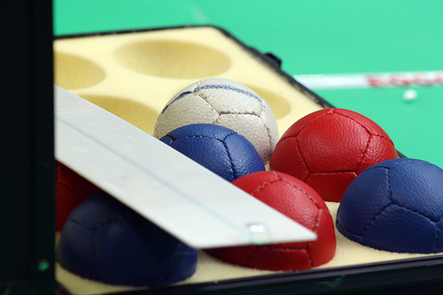 Boccia balls - image by Pedro Bártolo via Flickr