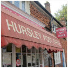 Enchanting Hursley Post Office