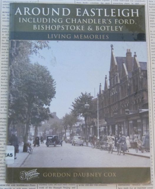 Around Eastleigh - book by Gordon Daubney Cox