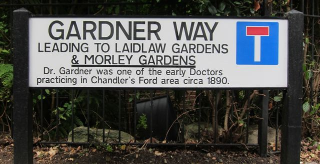 Gardner Way in Chandler's Ford.