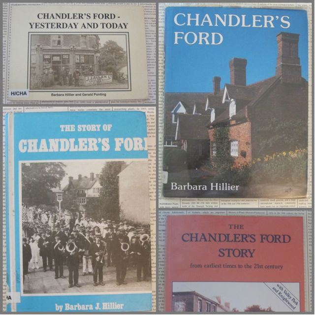 Chandler's Ford Books by Barbara J Hillier and Gerald Ponting.