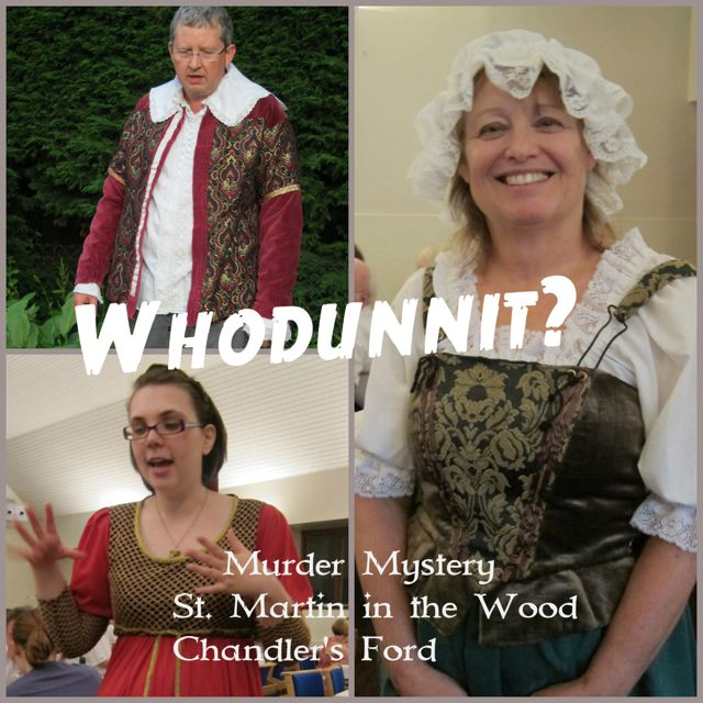 Murder Mystery in Chandler's Ford, St. Martin in the Wood. By Mystery in History.