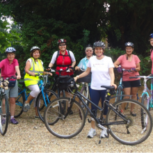 Chandler's Ford ladies cycling group