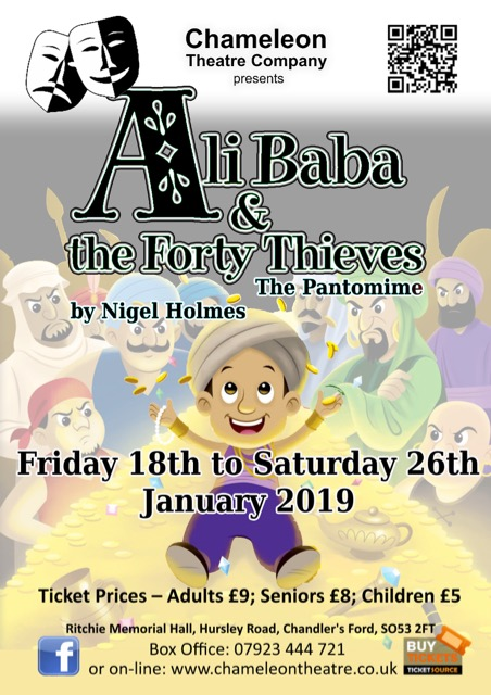 Ali Baba and the Forty Thieves - The Pantomime