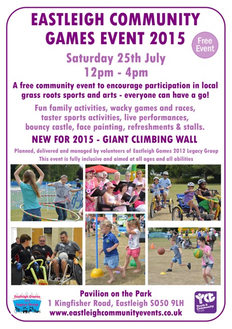 Eastleigh Community Games 2015