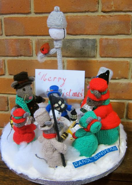 Carol Singers by Knitter's Natters from Chandler's Ford.