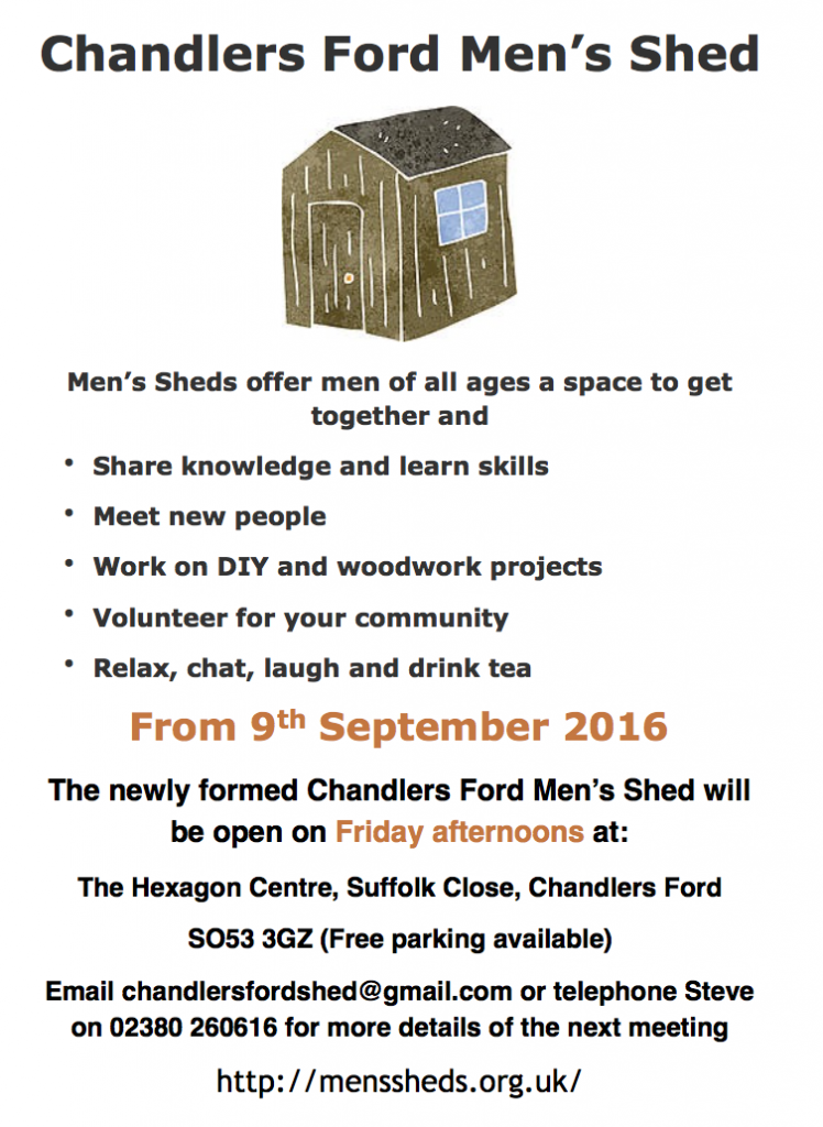 Chandler's Ford Men's Shed