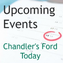 Save the Dates! Upcoming Events in Chandler's Ford 2018