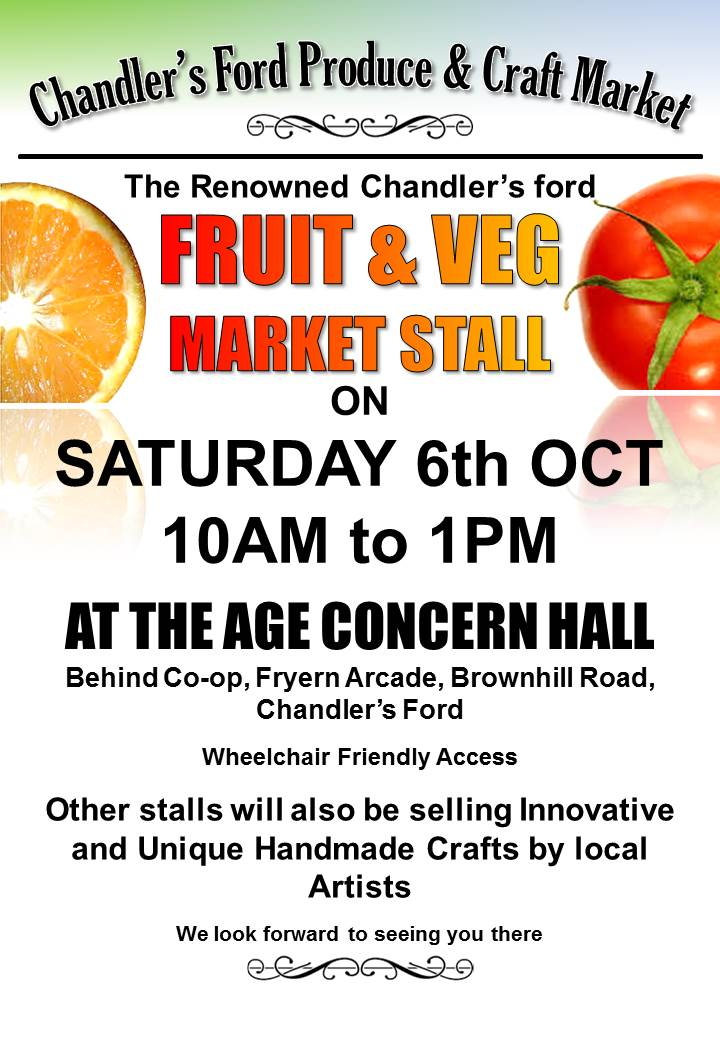 Chandler's Ford Produce and Craft market
