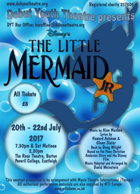 Debut Youth Theatre performs The Little Mermaid