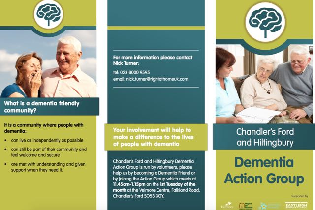 Dementia Action Group Chandler's Ford and Hiltingbury
