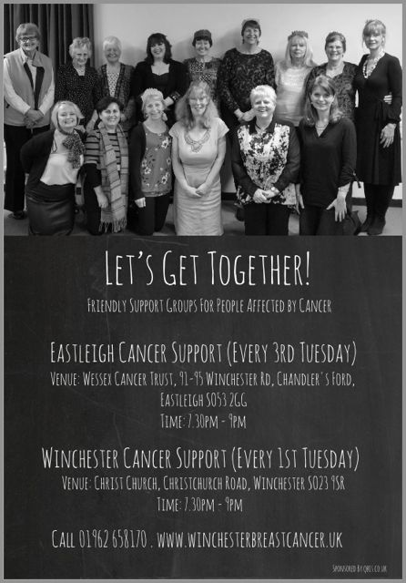 Eastleigh Cancer Support Chandler's Ford Wessex Cancer Trust