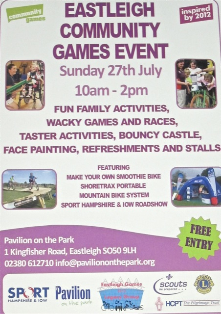 Eastleigh Community Games Event