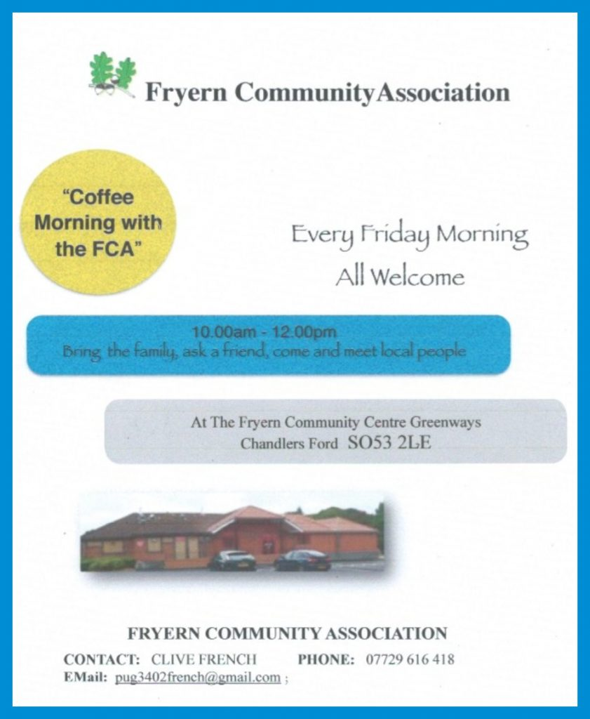 Fryern Community Association 2017 event