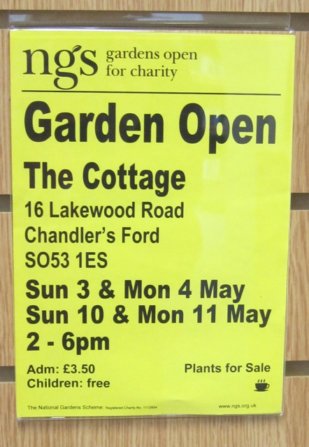 The Cottage: ngs Gardens Open: 16 Lakewood Road Chandler's Ford