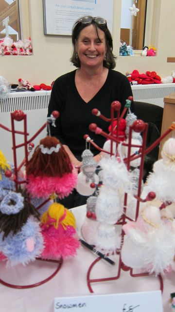 Lesley from Quirky and Quaint - formed knitting group in Chandler's Ford.