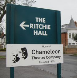Chameleon Theatre Company and The Ritchie Hall.