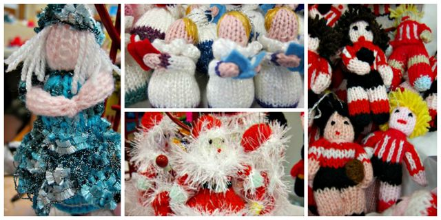 Quirky and Quaint by Lesley - knitted toys knitted by ladies from Chandler's Ford