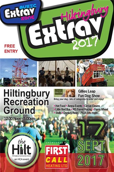 Hiltingbury Extravaganza - Sunday 17th Sep 2017