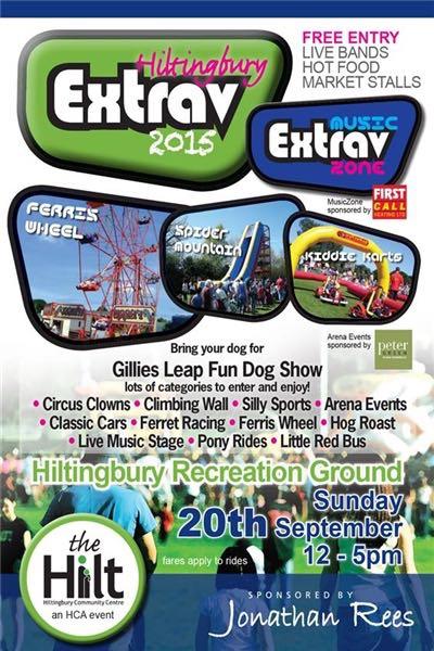 The Hilt Extrav Sunday 20th September 2015