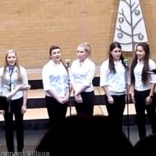 Beautiful Singing By Thornden School Year 11 Ensemble
