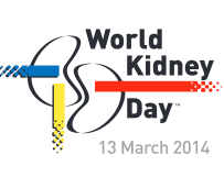 World Kidney Day: 13th March 2014.