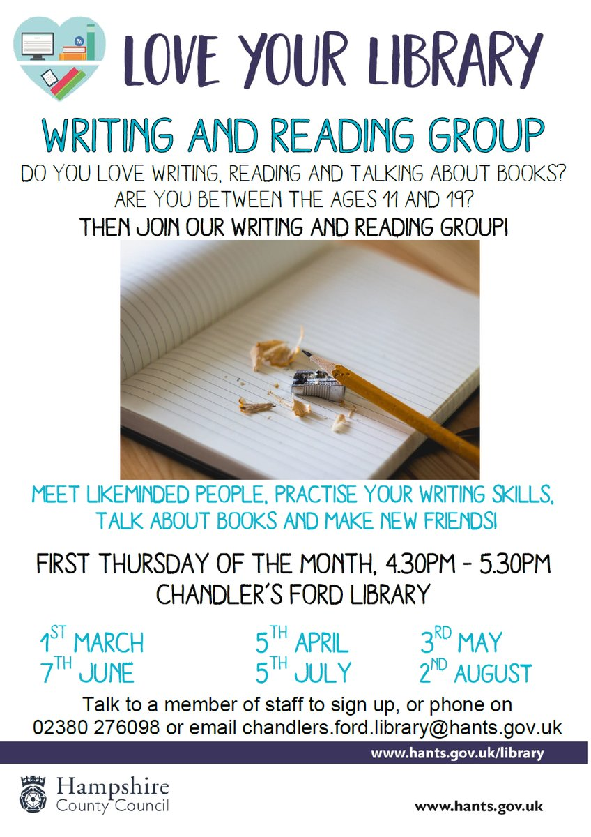 Writing and Reading Group