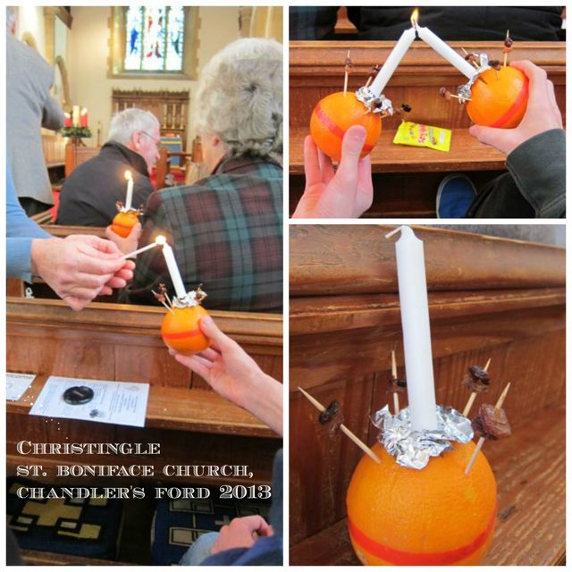 Christingle 2013 at St. Boniface Church.