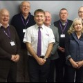 The Rotary Club volunteers together with Garry Jopling & John Shaw from the Stroke Association.