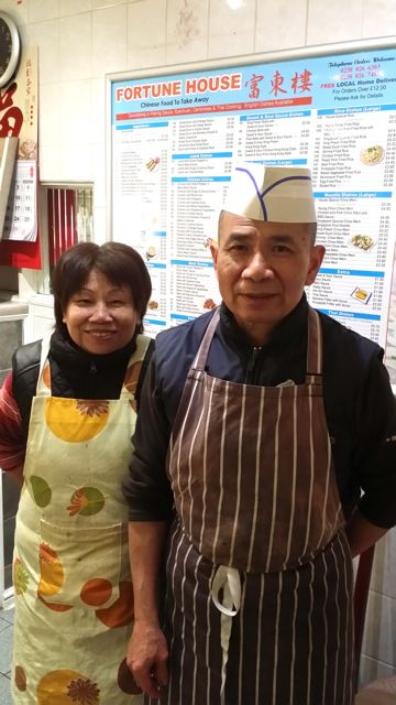 David and Sim Tang, new owners of Fortune House in Winchester Road, Chandler's Ford.