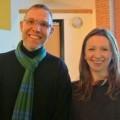 Graham Hooper from The Hilt invited writer Ann Morgan to Chandler's Ford.