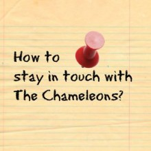 Keep Up-To-Date With The Chameleons