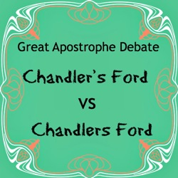 Chandler's Ford: The Great Apostrophe Debate